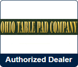 Ohio Table Pad Authorized Dealer